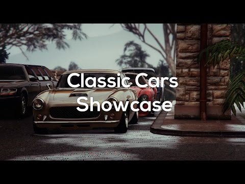 Classic Cars - GTA 5 Rockstar Editor Cinematic Car Showcases - Vinless