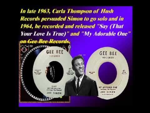 The Chokin' Kind - Joe Simon - March 1969  HQ