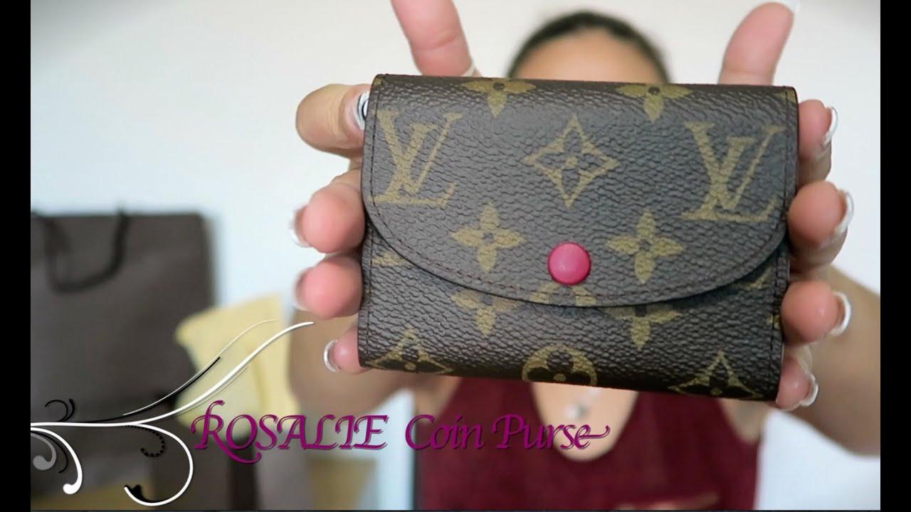 Louis Vuitton Rosalie Coin Purse Reveal