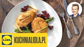 Pierś kurczaka w orzechach i sałatka z buraków - Karol Okrasa - Przepisy Kuchni Lidla
