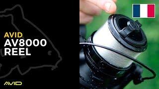 AVID CARP- AV8000 Reel- French