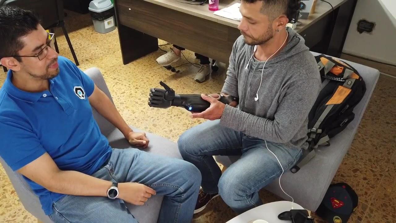 Adaptación y entrenamiento de prótesis robótica en impresión 3D