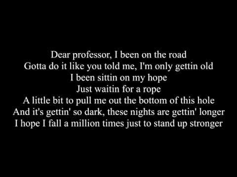 The Dean's List - Dear Professor (Lyrics On Screen)