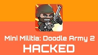 Mini Militia v3.0.147: Doodle Army 2 Hacked with Toggle MOD [No Root] {Everything is Unlimited} 2017