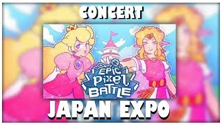 Concert Epic Pixel Battle : Zelda vs Peach