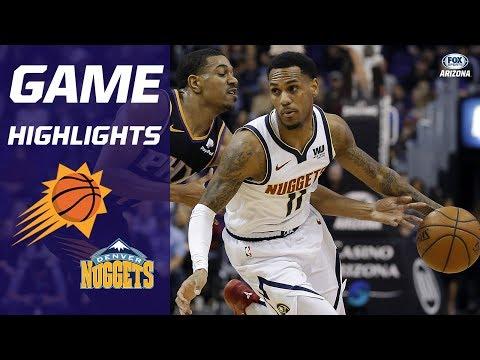 HIGHLIGHTS: Phoenix Suns 102, Denver Nuggets 93