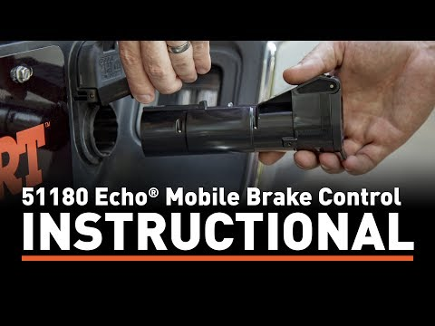 Installation Instructions: CURT 51180 Echo® Mobile Brake Control