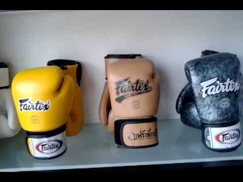 A Tour of the Fairtex Shop in Pattaya – Muay Thai Equipment and Designs