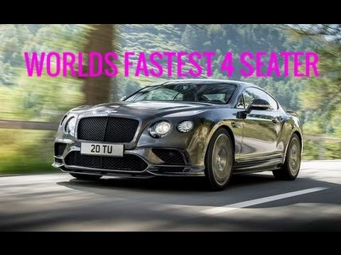 The Worlds Fastest  Seater Supercar