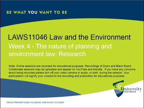 LAWS11046_4 Law and the Environment
