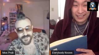 Everybody Knows vs Mos Prob | IRN BRZ Live Stream Rap Battle