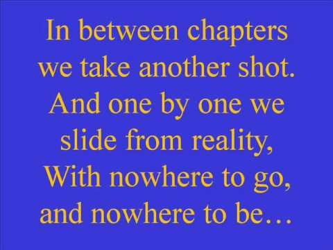 Nowhere To Go, Nowhere To Be By Kenny Chesney