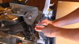 Quick Miter Saw Stop Block