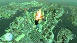 GTA IV Jump From Space And Survive? Highest Jump ever!