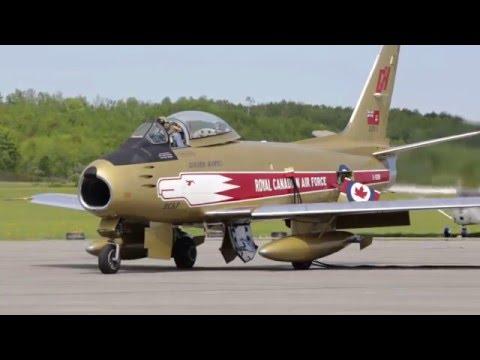 Vintage Wings of Canada's Sabre - May 23, 2015