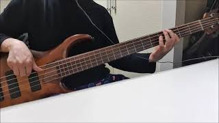 Кино - Пачка сигарет , Kino - A Pack of Cigarettes (bass cover)