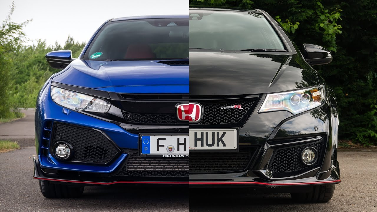 honda civic type r fk8 v fk2 how do they compare new. Black Bedroom Furniture Sets. Home Design Ideas