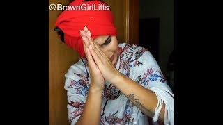 How to tie a Turban: Patiala Shahi Pagg