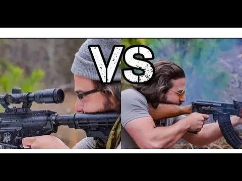 Фанаты Калашникова против Фанатов AR 15 / Brandon Herrera на Русском  Выпуск 2.