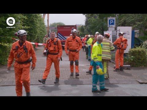 Hulpdienst ter plaatse bij bouwongeval stadhuis   Woerden.TV