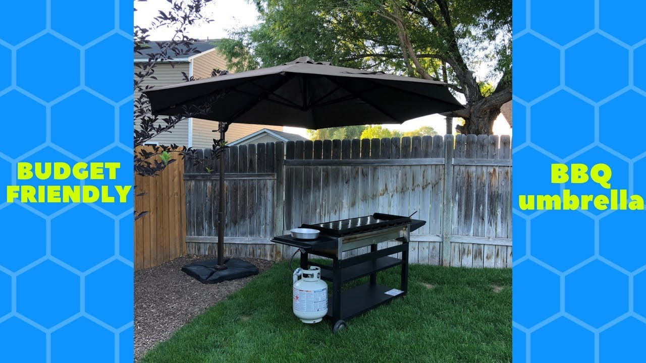 Budget Friendly Bbq Umbrella Abba Patio Offset Cantilever