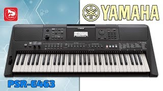 Кращий домашній синтезатор YAMAHA PSR-E463