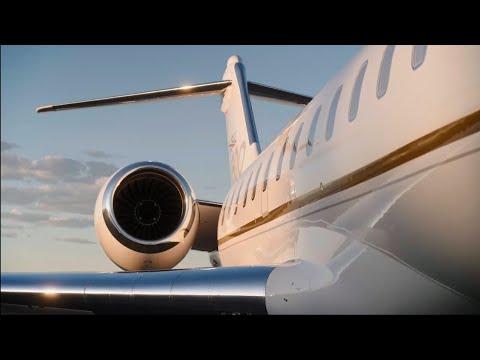 Bombardier à NBAA-BACE - Bienvenue au salon