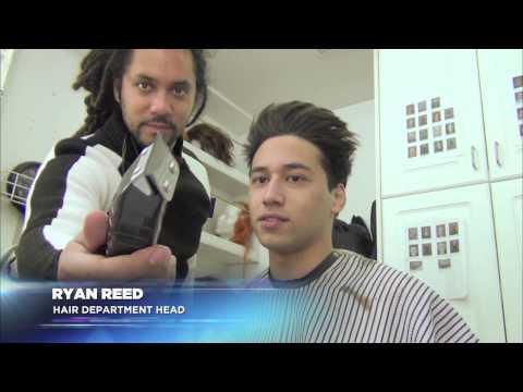 Defiance: Season One  On Set with Jesse Rath  Make Up