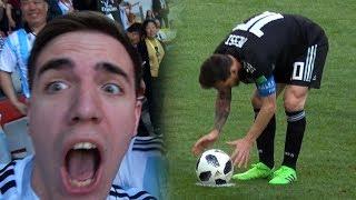 REACCIONES DE UN HINCHA Argentina vs Islandia 1-1 - MUNDIAL RUSIA 2018