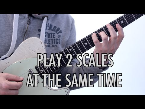 Playing 2 Scales At The Same Time | Voice Leading
