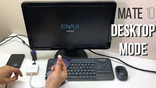 Huawei Mate 10 Desktop Mode Malaysia