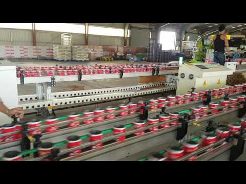 YUANROX NEW GENERATION CAN BODY MAKING LINE CAPACITY 550 CANS/MIN