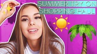 SUMMER TRY ON SHOPPING HAUL! Jasmin Azizam