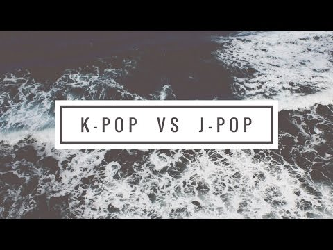 Difference between K-pop and J-pop animated video