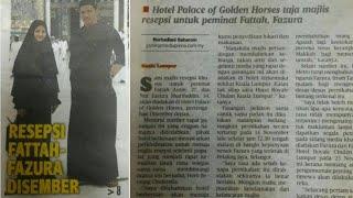 Resepsi Fazura Fattah Ditaja oleh Hotel Palace of The Golden Horses thumbnail