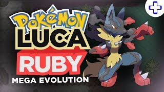 POKEMON LUCA RUBY GBA ROM HACK - WITH MEGA EVOLUTION!  + DOWNLOAD LINK! (2018)
