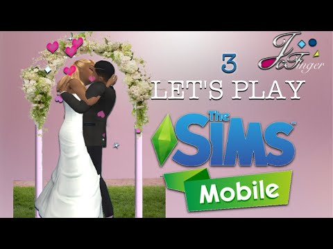 the-sims-mobile-lets-play-part-3-the-wedding-🎩💞👰🏻