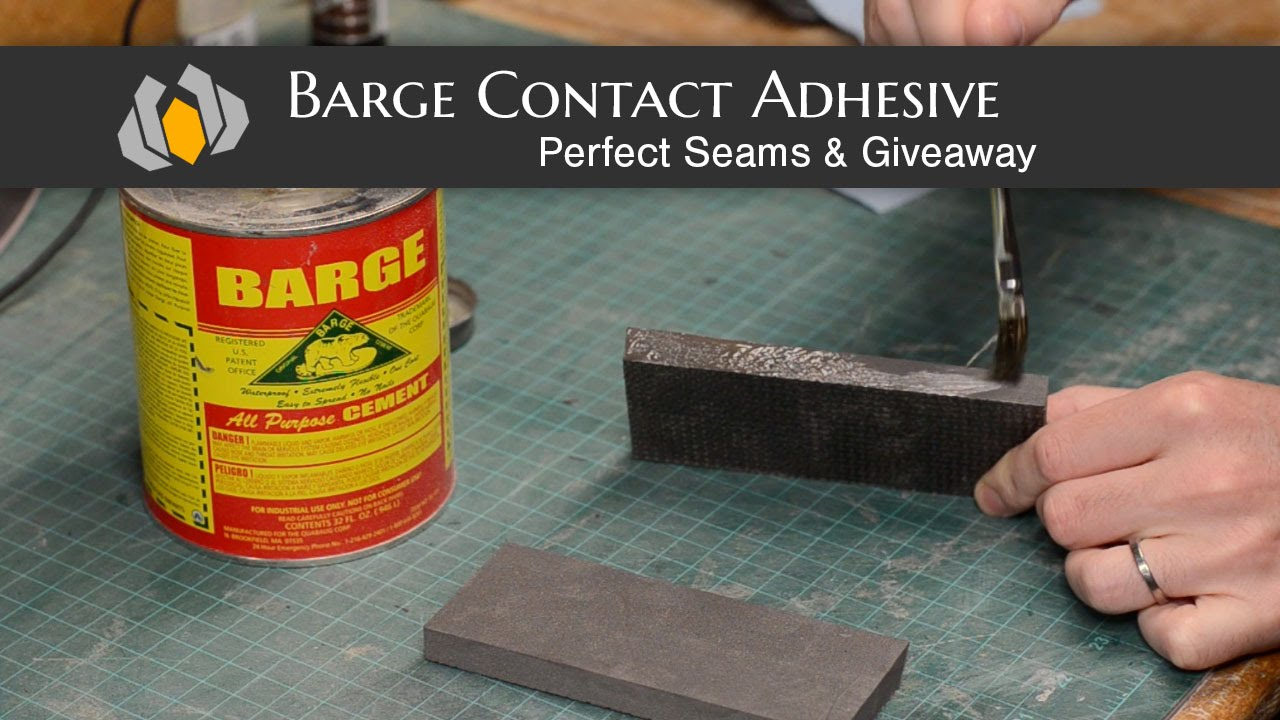 Prop Shop Barge Adhesive Eva Seams And Giveaway Youtube