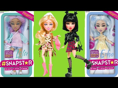 SNAPSTAR Fashion Dolls | Poseable Dolls You Snap, Style And Share Pics Of On Social Media