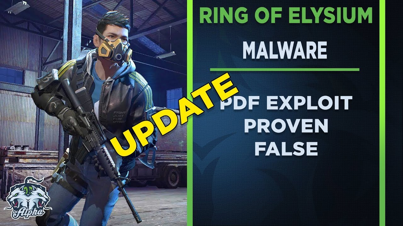 Ring Of Elysium Malware Exploit Proven False