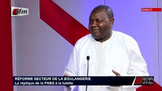SOIR D'INFO - Français - Invité : Amadou Gaye - Pr : Ndeye Arame Touré - 18 Septembre 2020