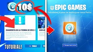 HOW TO GET 10$ OF FORTNITE 100% SAFE!!