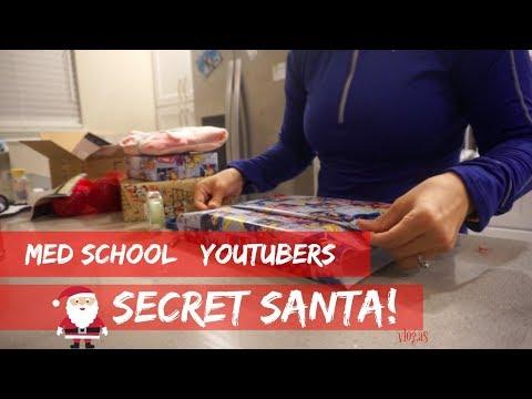 Med School Youtubers Secret Santa | vlogmas