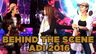 BEHIND THE SCENE ADI 2016 (Siti Badriah, Ayu Ting Ting, Julia Perez, Zaskia Gotik, Iis Dahlia dll)