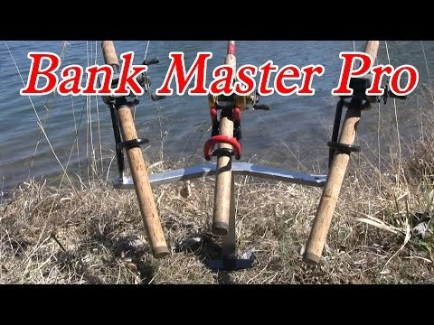 Bank Fishing Rod Holder: