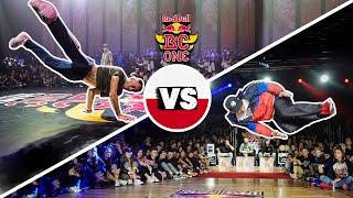 Thomaz vs. Zawisza | Półfinał - Red Bull BC One Cypher Poland 2019