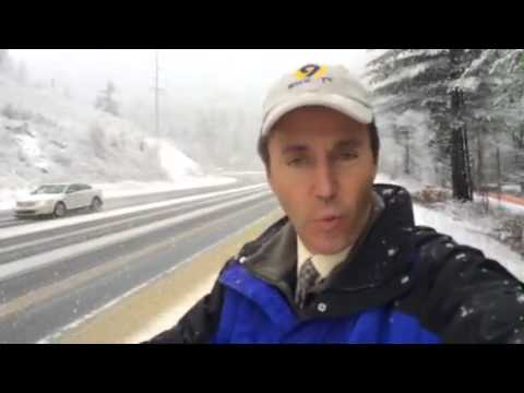 WEATHER REPORT: Snow falling in Watauga County