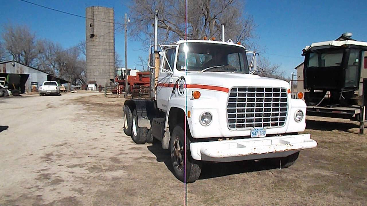 1974 Ford Ln 9000 Youtube
