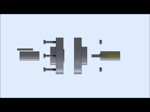 Flanged Coupling Animation thumbnail