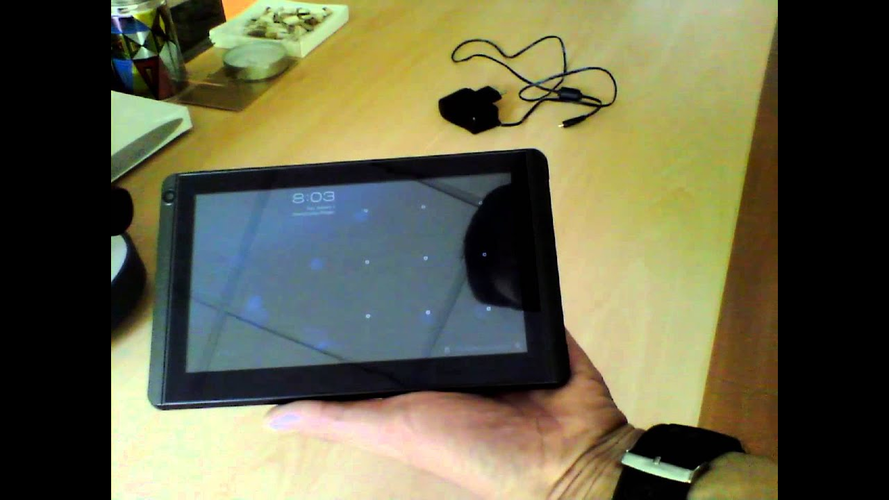 Newsmy T7 tablet - not charging - YouTube